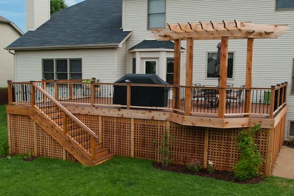 RSB Trex® and Cedar Deck