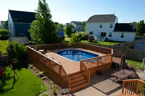 Rsb Wood Pool Deck Rock Solid Builders Inc
