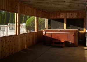 Cedar Under Deck Screen Room McHenry County
