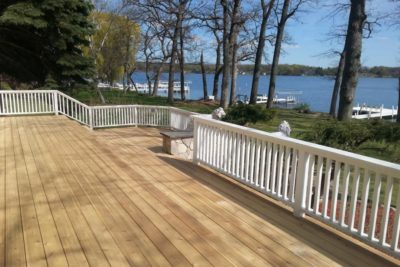 Builder blog rock solid builders inc for Cedar decks pros and cons