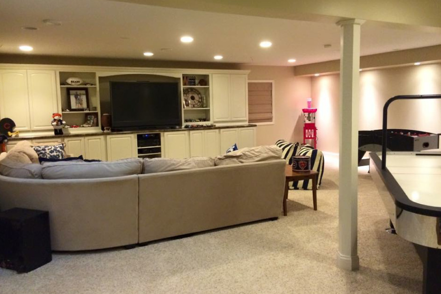 Basement Entertainment Center McHenry