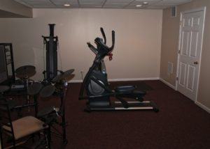Basement Exercise Room McHenry
