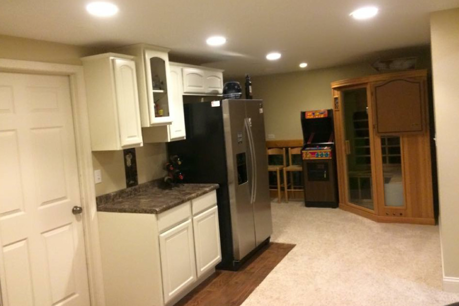 Basement Kitchenette McHenry