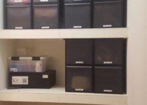 Basement Storage Shelf