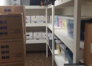 Basement Storage Shelving