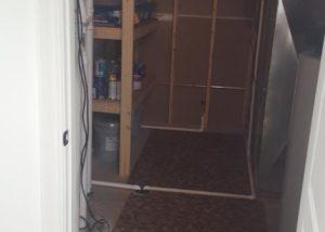 Basement Utility Closet Shelf