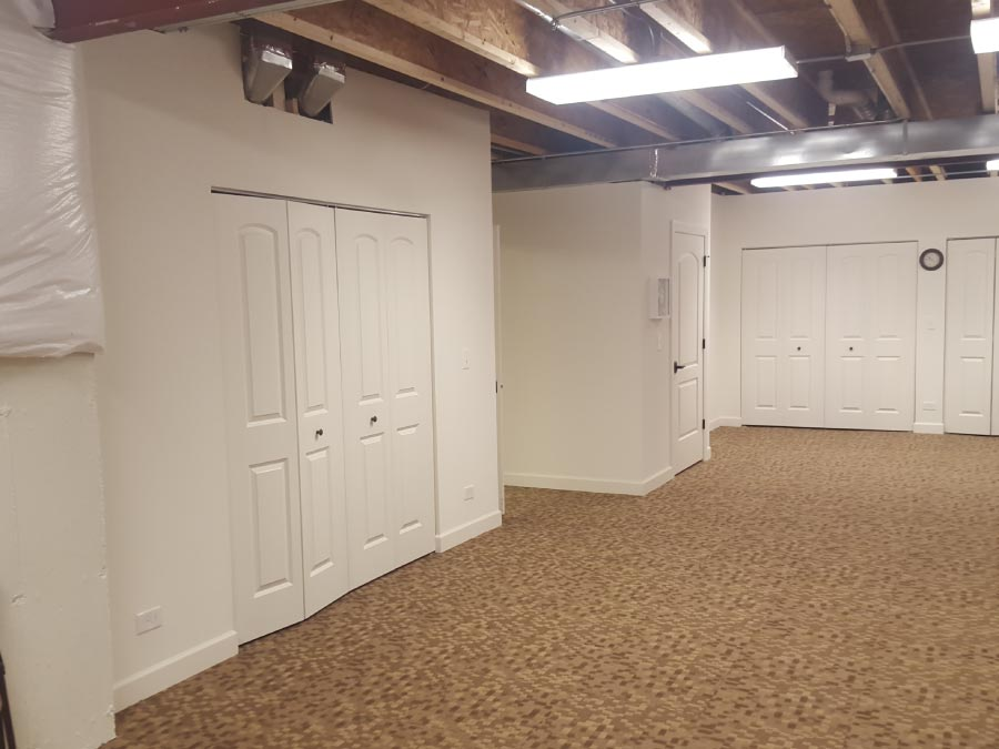Basement Drywall Open Ceiling