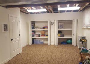 Basement Storage Closet