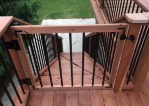 Cedar Deck Gate Lake County