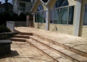 Cedar Deck Wisconsin