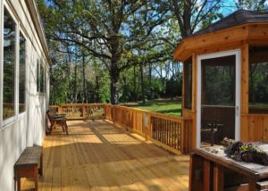 Cedar Deck and Gazebo Marengo