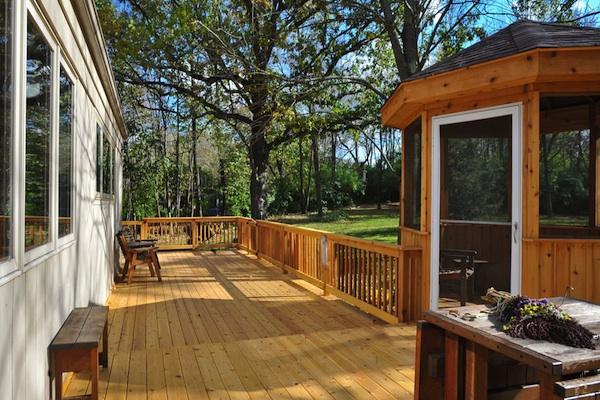 Cedar Deck and Gazebo Marengo
