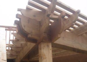 Cedar Pergola Detail McHenry County