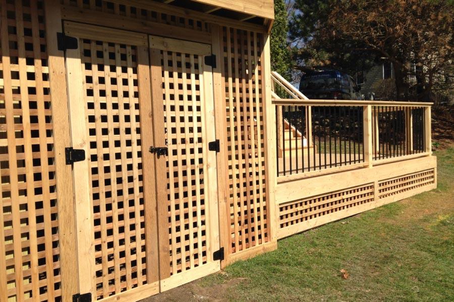 Photo Galleries Wood Decks Rock Solid Builders Inc