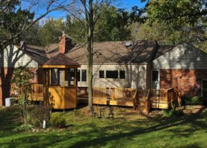 Custom Cedar Deck and Gazebo McHenry County