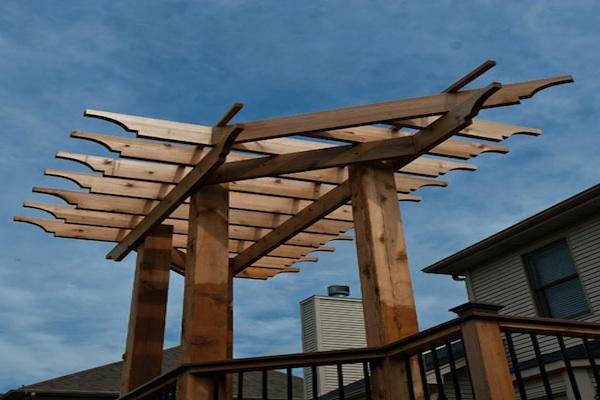Custom Cedar Pergola Elgin