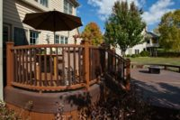 Custom Curve Trex® Deck McHenry County