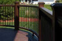 Custom Curve Trex® Deck Schaumburg