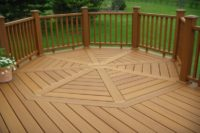 Custom Octagon Trex® Decking and Railings McHenry County