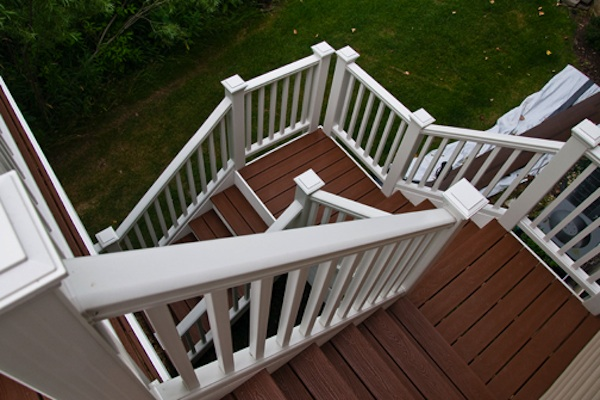 Custom Trex® Deck Stairs Antioch