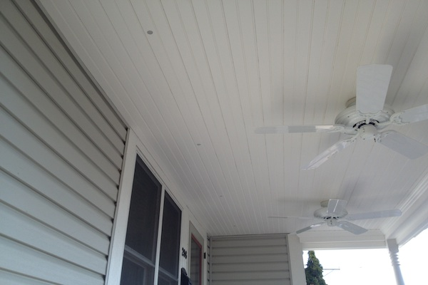 Flush Mount Ceiling Lights on Trex® Front Porch West Dundee