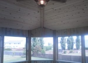Inside Screen Room Detail McHenry County