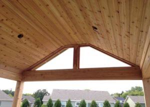 Pleasant Praire Pavilion Ceiling