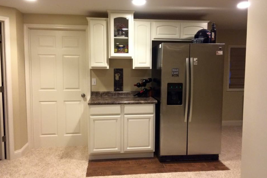 Small Basement Kitchenette McHenry