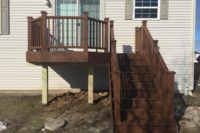 Small Trex® Tree House Deck McHenry 2