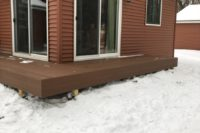 Small Trex® Tree House Deck McHenry
