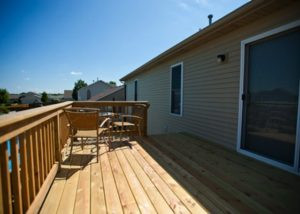 Small Wood Deck McHenry