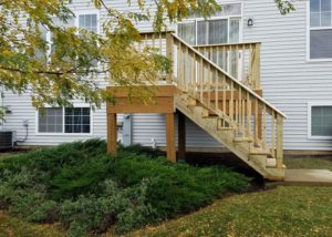 Small Wood Deck Wauconda