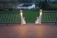 Tree House Trex® Deck with Lighting McHenry County