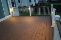 Tree House Trex® Deck with Trex® Lights McHenry County