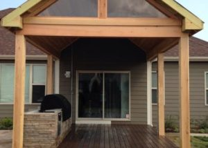 Trex® & Cedar Open-Air Pavilion Wisconsin