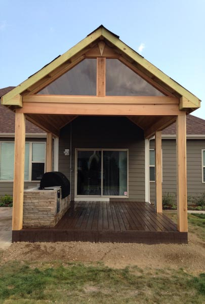 Trex® & Cedar Open-Air Pavilion Wisconsin