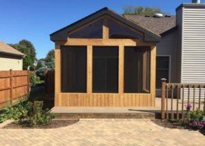 Trex® & Cedar Screen Room Algonquin