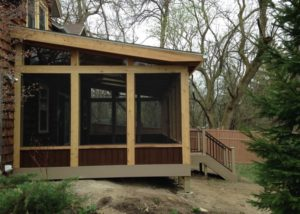 Trex® & Cedar Screen Room Lake Geneva