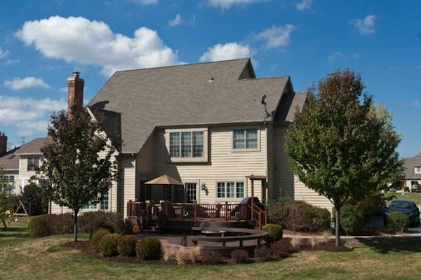 Trex® Curved Trex® Deck McHenry County