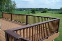 Trex® Deck Flat Top Railings Johnsburg