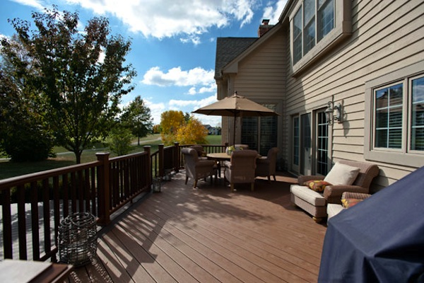 Trex® Deck Oakwood Hills