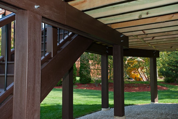 Trex® Deck Posts and Girders Schaumburg
