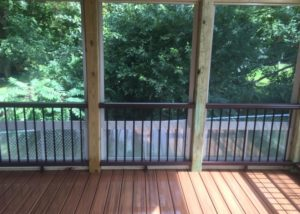 Trex® Deck & Screen Room with Eze Breeze Panels