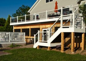 Trex® Deck and Cedar Under Deck Screen Room McHenry County