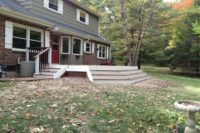Trex® Deck and Walkway with Wide Steps Kenosha
