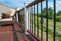 Trex® Deck with Aluminum Balusters West Dundee
