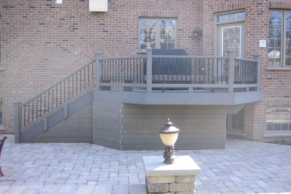 Trex® Deck with Under Deck Storage Palatine