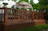 Trex® Deck with Vertical Skirting Vernon Hills