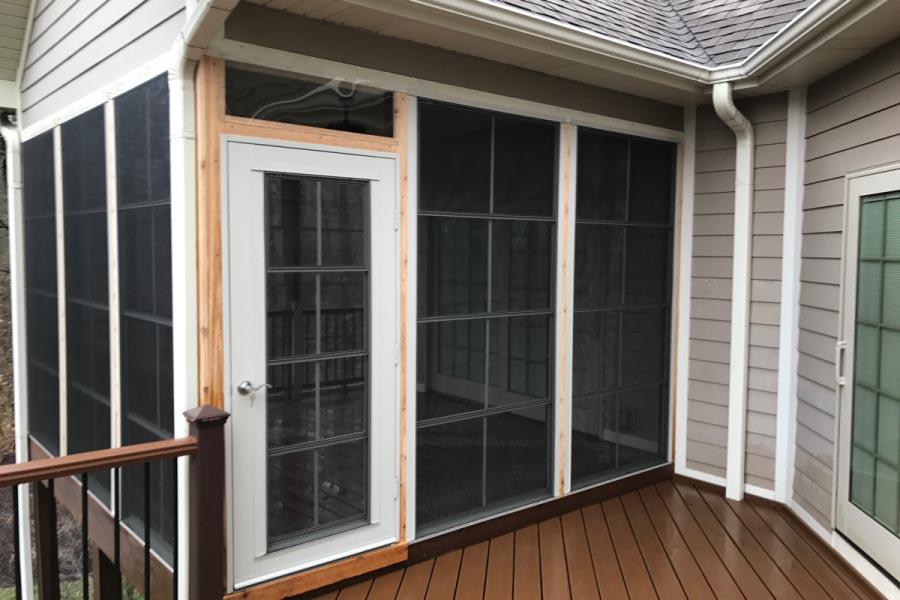 View Larger Image Trexu003csupu003e®u003c/supu003e ... & Trex® EZE Breeze Cabana Door | Rock Solid Builders Inc.