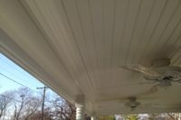 Trex® Front Porch Ceiling Detail West Dundee